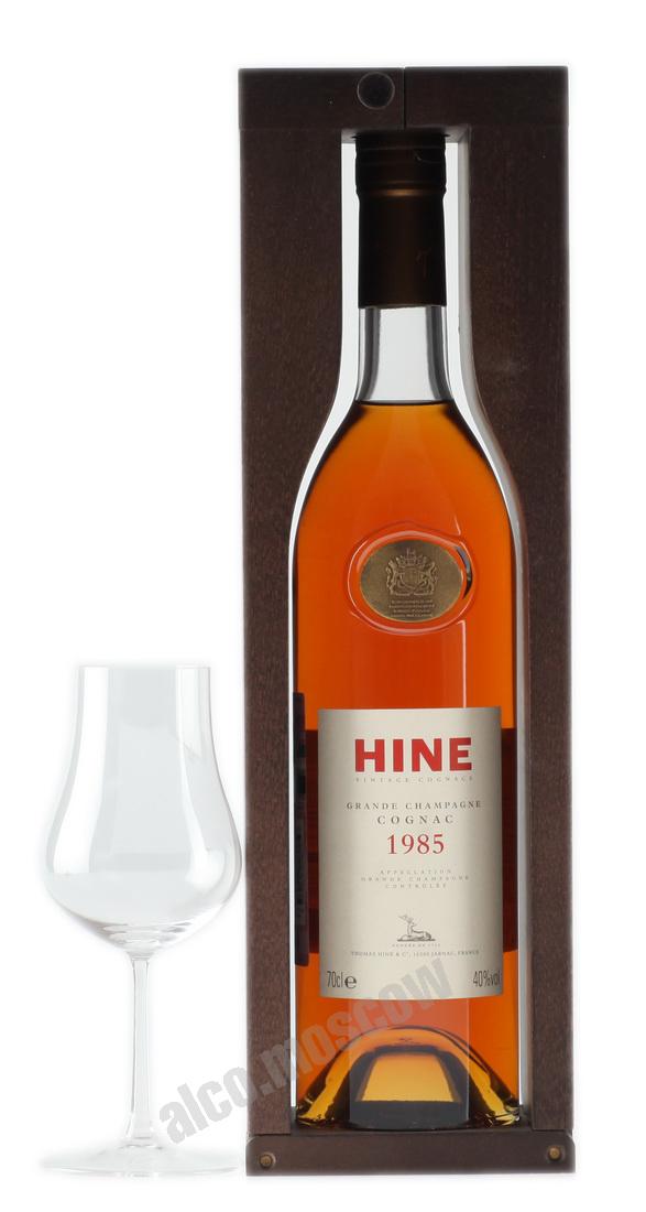 Hine Коньяк Hine 1985 коньяк Хайн 1985 года