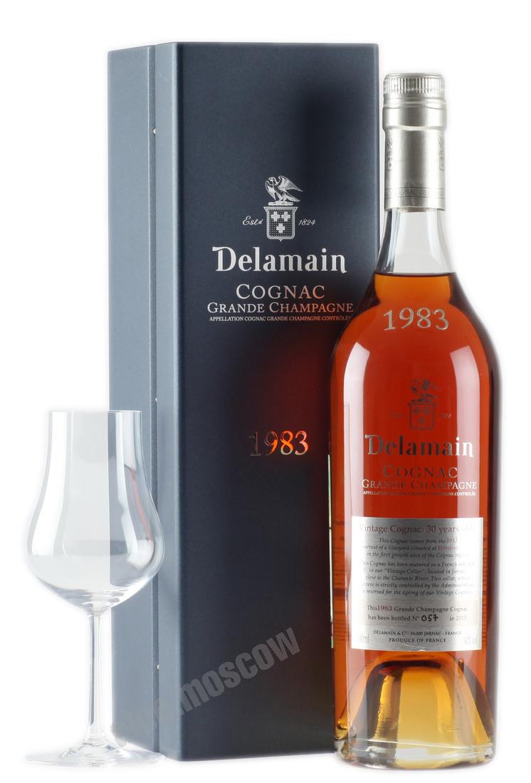 Delamain Коньяк Delamain 1983 коньяк Деламен 1983 года
