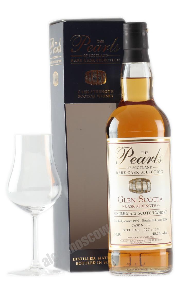 Glen Scotia  Glen Scotia Pearls 1992 years Виски Глен Скотия Перлс в п/у