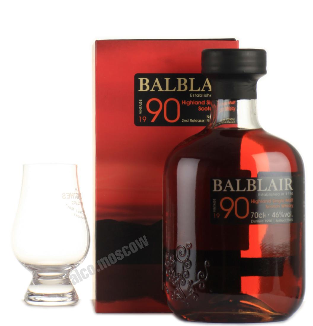 Balblair Balblair 1990 виски Балблэр 1990