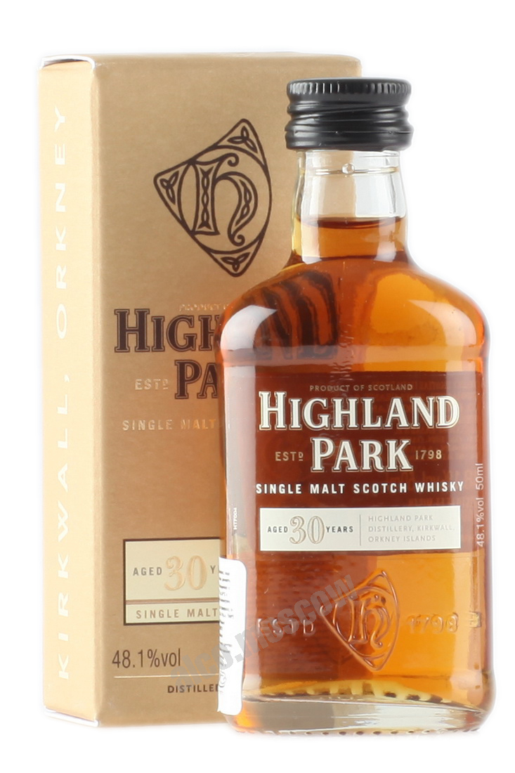 Highland Park Highland Park 30 years 50 ml виски Хайленд Парк 30 лет