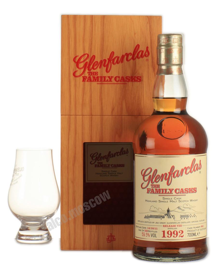 Glenfarclas Glenfarclas Family Cask 1992 шотландский виски Гленфарклас Фамили Каск 1992 года