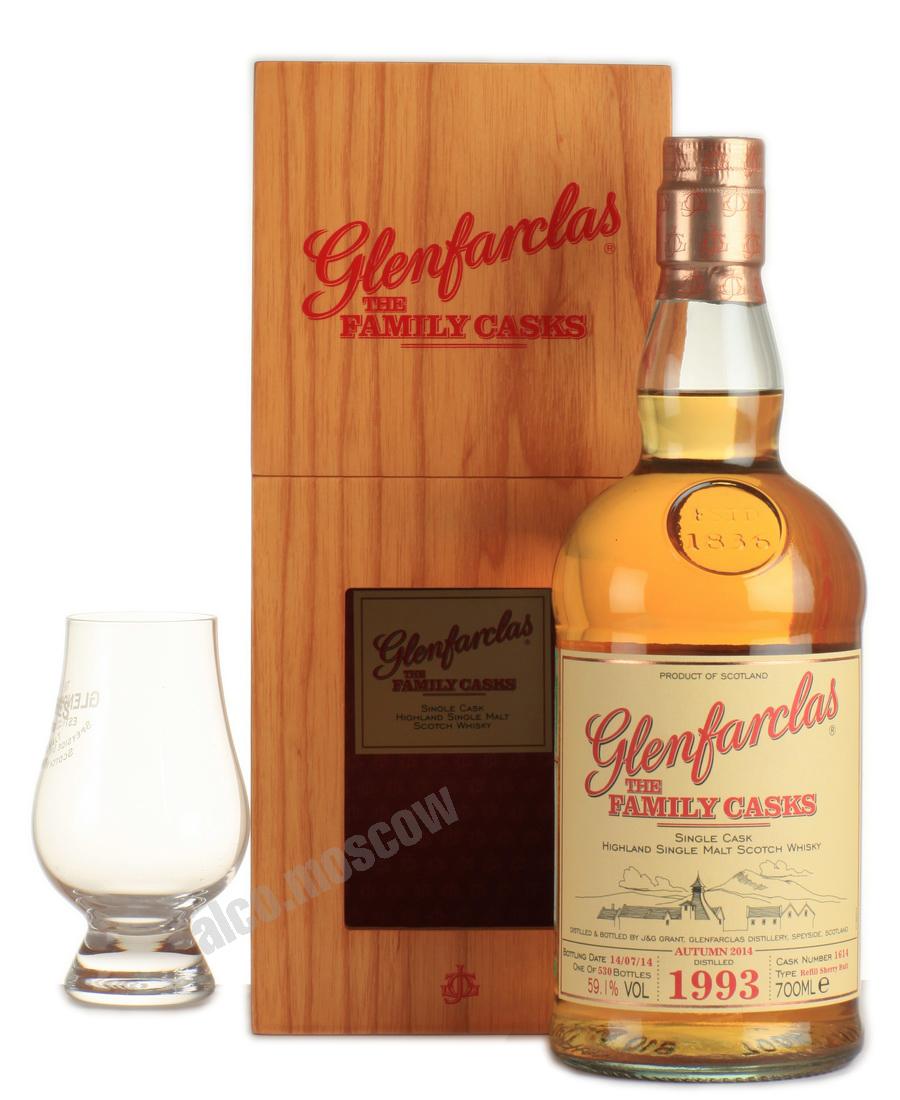 Glenfarclas Glenfarclas Family Cask 1993 шотландский виски Гленфарклас Фамили Каск 1993 года
