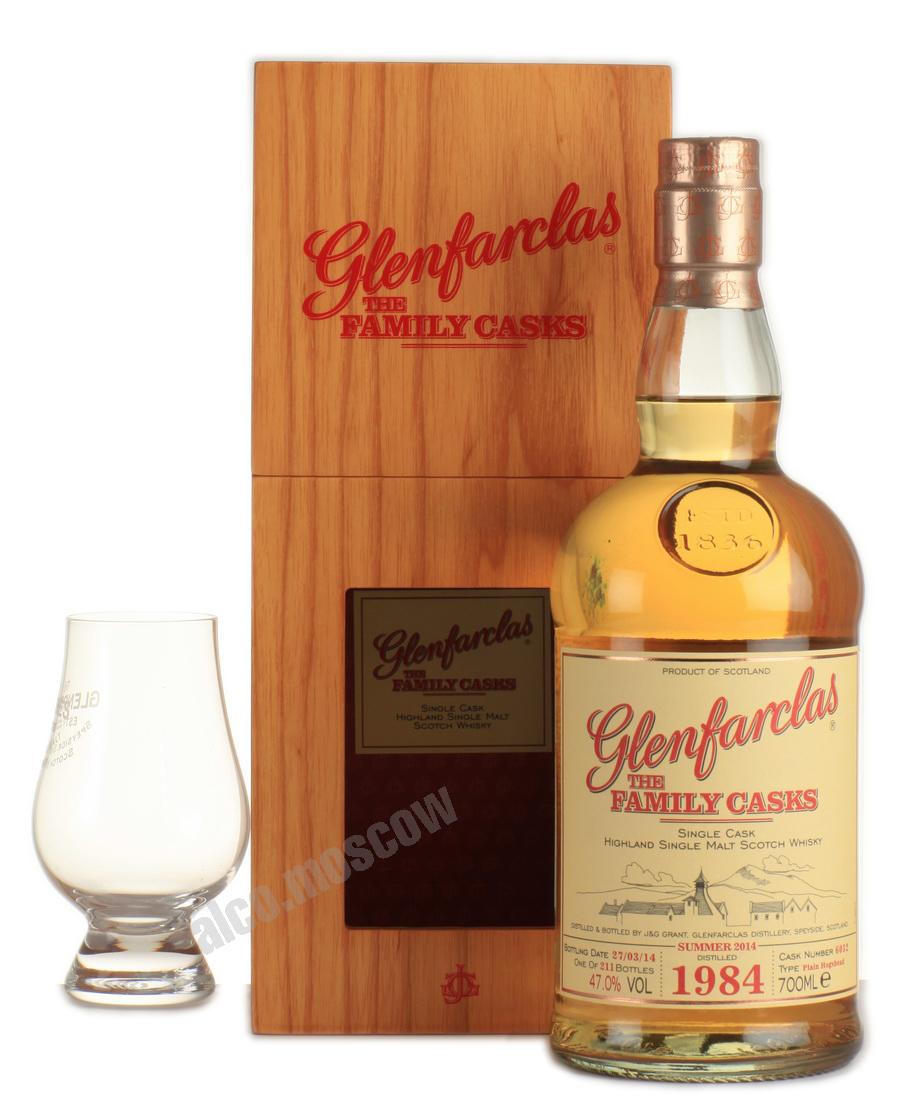 Glenfarclas Glenfarclas Family Casks 1984 Виски Гленфарклас Фэмэли Каскс 1984