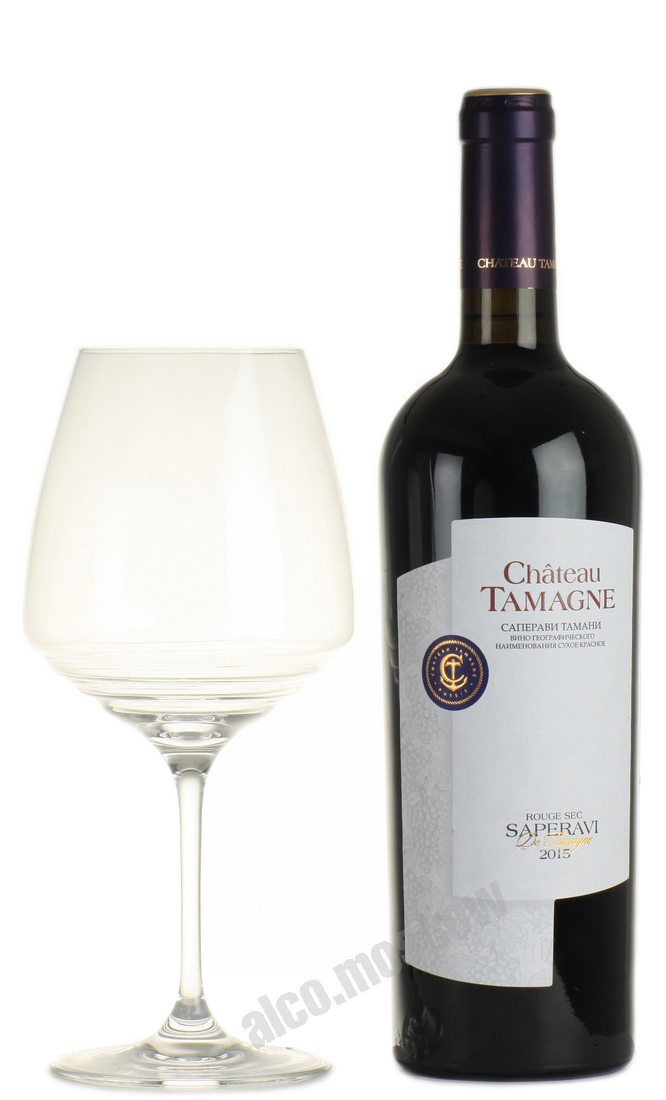 Chateau Tamagne Chateau Tamagne Saperavi Tamagne российское вино Шато Тамань Саперави Тамани