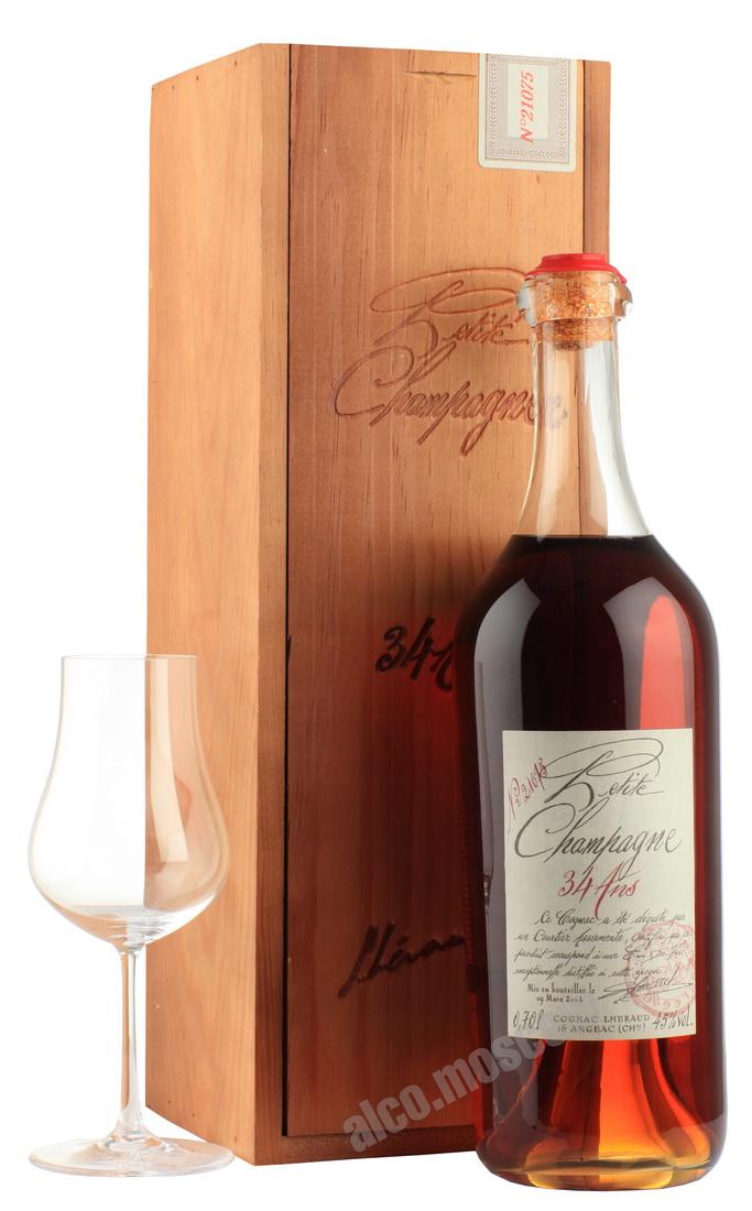Lheraud Lheraud Cognac 34 years коньяк Леро 34 года