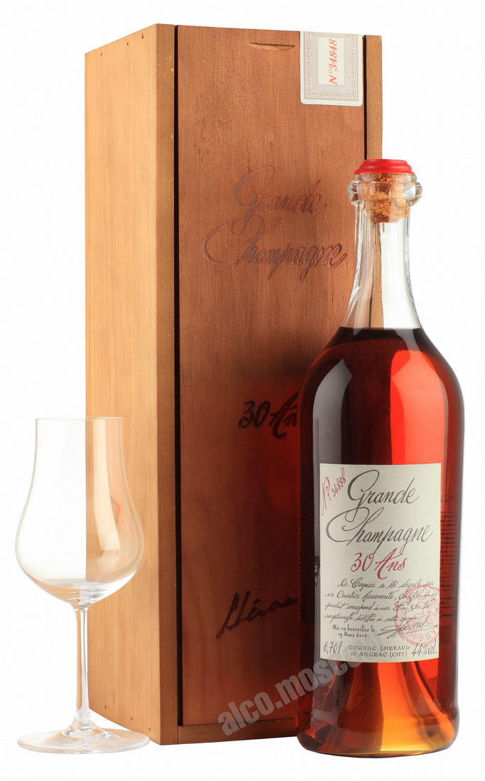 Lheraud Lheraud Cognac 30 years коньяк Леро 30 года