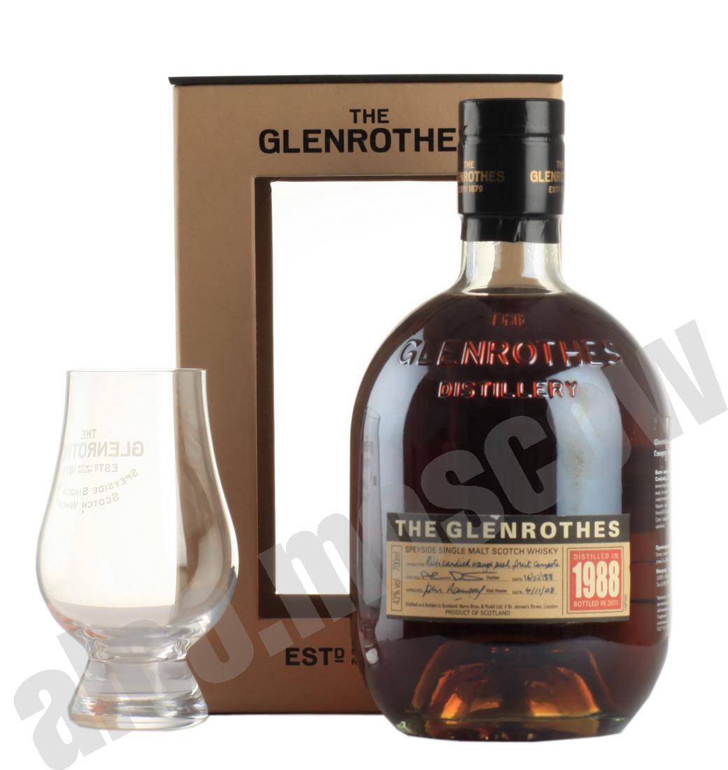 Glenrothes Glenrothes Spyside 1988 шотландский виски Гленротс Спейсайд 1988 года