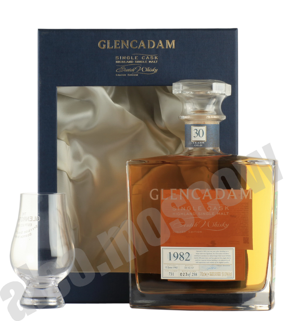 Glencadam Glencadam 1982 шотландский виски Гленкадам 1982 года 30 лет