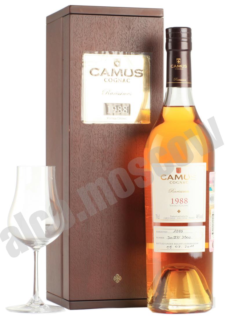 Camus Коньяк Camus 1988 коньяк Камю 1988 года
