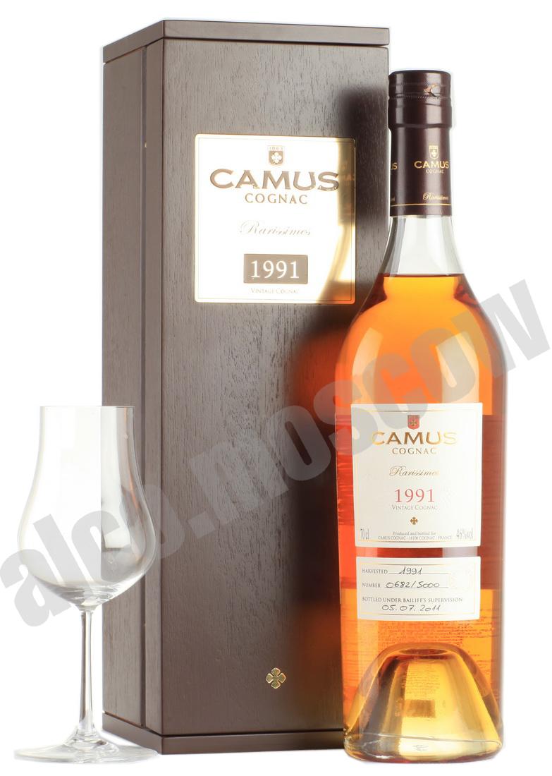 Camus Коньяк Camus 1991 коньяк Камю 1991 года