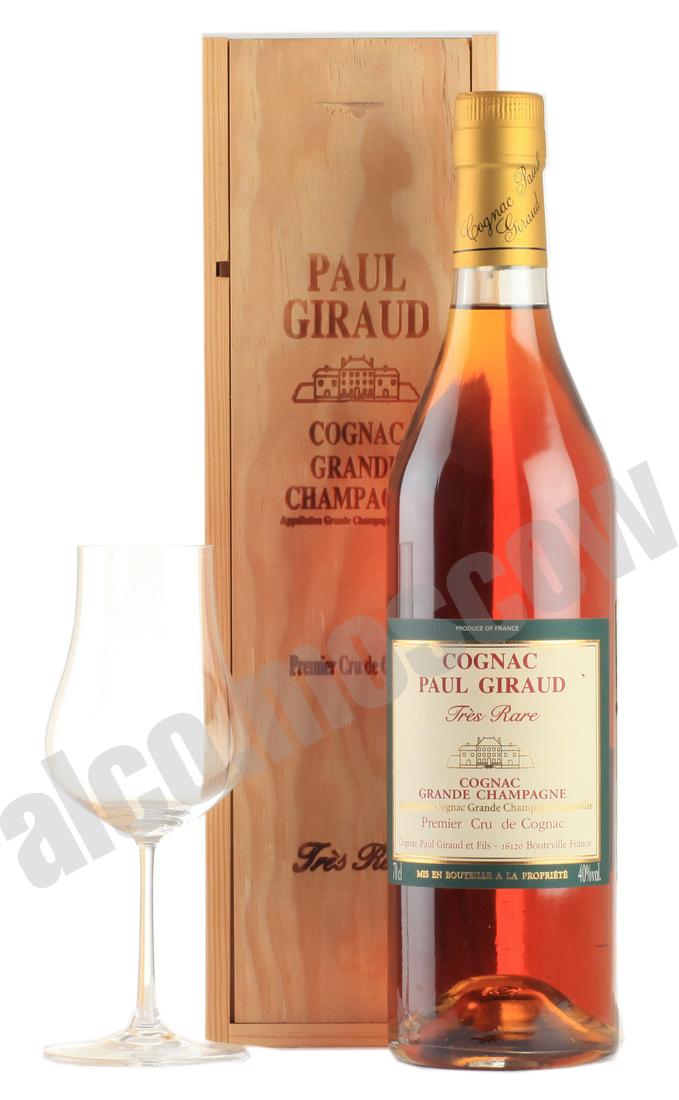 Paul Giraud Paul Giraud Tres Rare Grande Champagne Premier Cru 40 years коньяк Поль Жиро Тре Рар Гран Шампань Премье Крю 40 лет