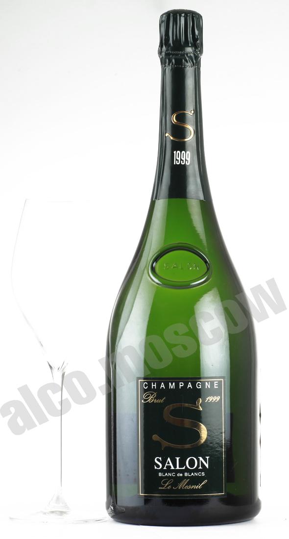 Salon Brut Blanc de Blancs 1999 gift box купить шампанское ...
