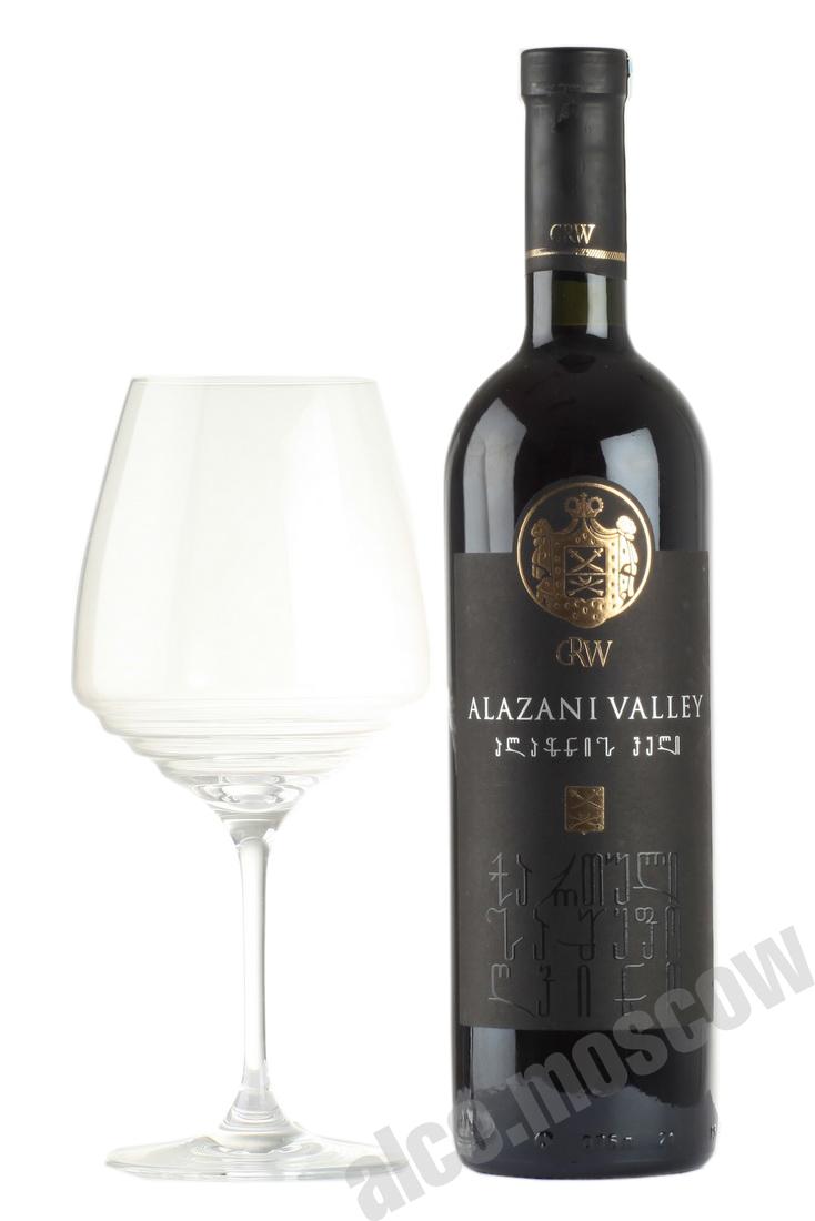 Grw Alazani valley GRW 2016г Грузинское вино Алазанская долина 2016г