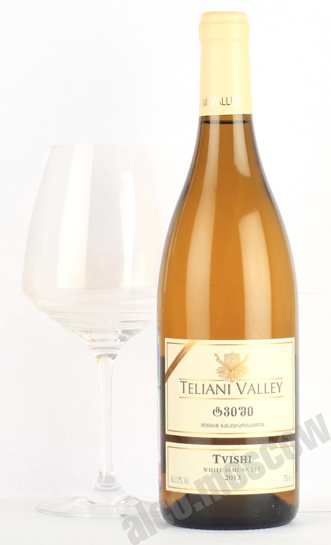 Teliani Valley Teliani Valley Tvishi грузинское вино Телиани Вели Твиши