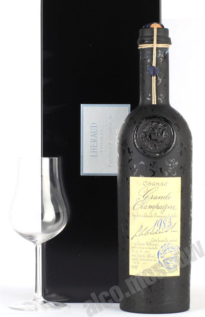 Lheraud Lheraud Grande Champagne 1983 0,7l Коньяк Леро Гранд Шампань1983г. 0,7л