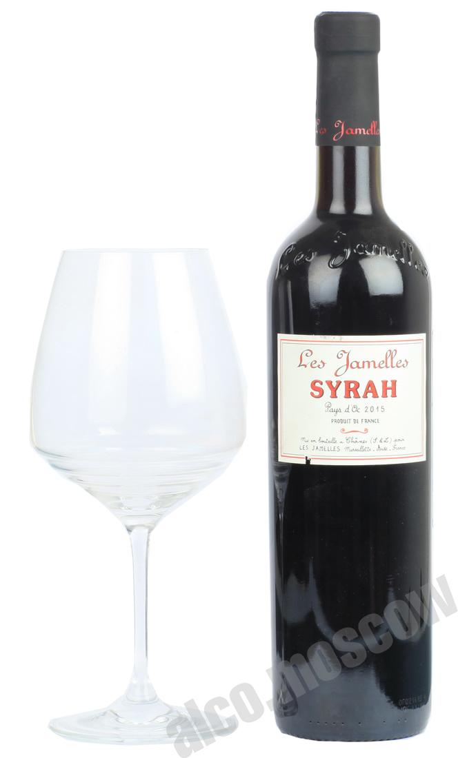 Les Jamelles Les Jamelles Syrah Французское вино Ле Жамель Сира
