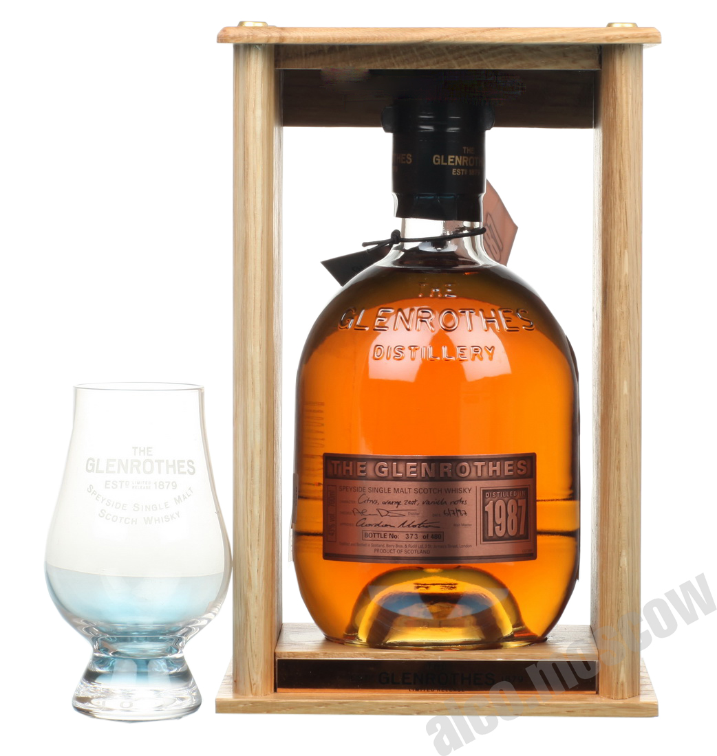 Glenrothes Glenrothes Single Spyside Malt 1987 шотландский виски Гленротс Сингл Спейсад Молт 1987 года