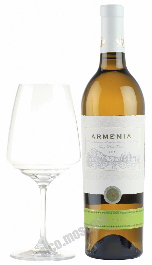 Armenia Wine Armenia White Dry 2013 армянское вино Армения Белое сухое 2013