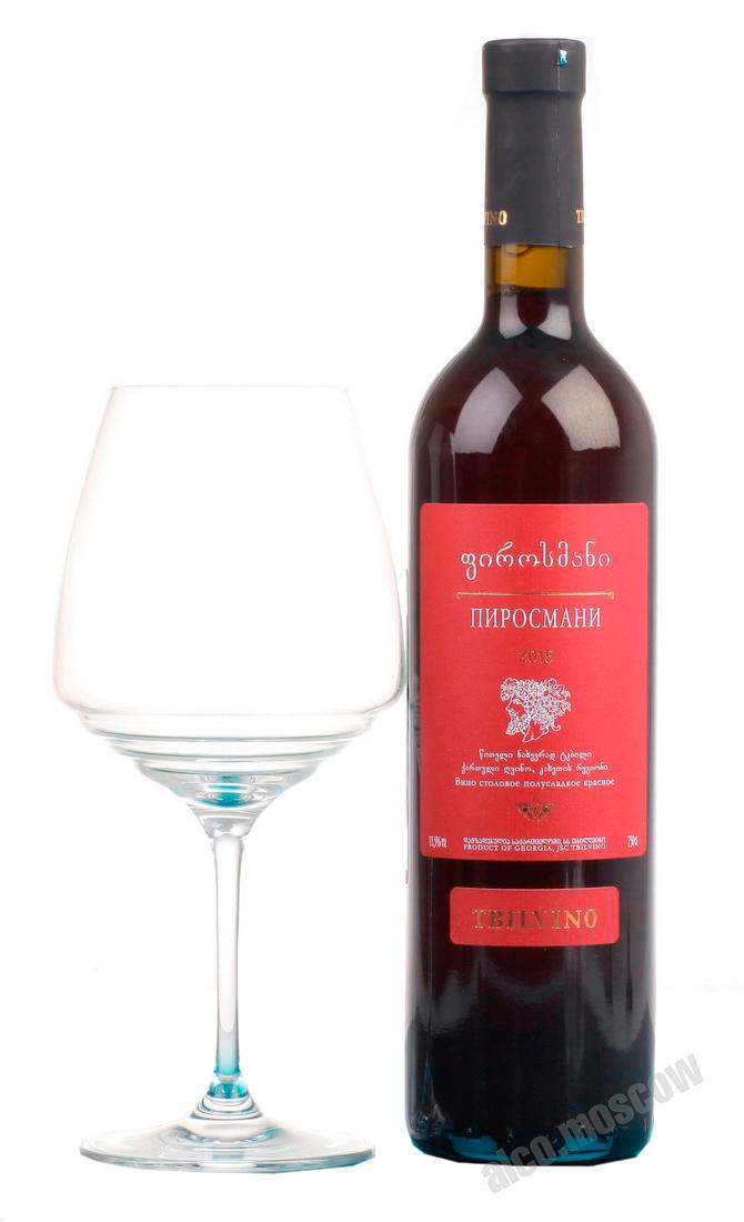 Tbilvino Tbilvino Pirosmani вино Грузинское Тбилвино Пиросмани