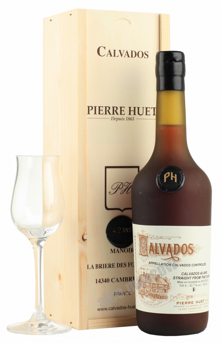Pierre Huet Pierre Huet 42 years кальвадос Пьер Уэт 42 года
