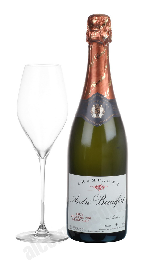 Andre Beaufort Andre Beaufort Brut Grand Cru 1990 шампанское Андре Буфор Брют Гранд Крю 1990 года