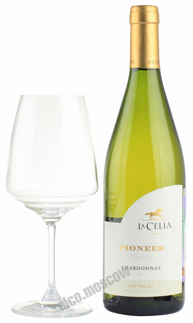 La Celia La Celia Pioneer Reserve Chardonnay 2013 аргентинское вино Ла Селия Пионер Ресерва Шардоне 2013