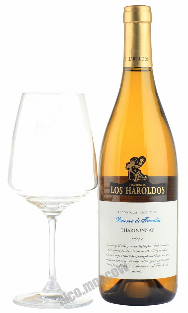 Los Haroldos Los Haroldos Reserva de Familia Chardonnay 2011 аргентинское вино Лос Аролдос Резерва Де Фамилия Шардоне 2011