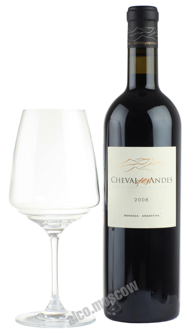 Cheval des Andes Cheval des Andes 2008 аргентинское вино Шеваль дес Андес 2008