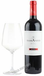 Diamandes Malbec 2010 аргентинское вино Диамандес Мальбек 2010
