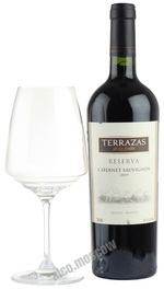 Terrazas de Los Andes Reserva 2009 аргентинское вино Терразас де Лос Андес Ресерва 2009