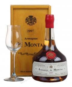De Montal 1997 арманьяк Баз-Арманьяк де Монталь 1997 в п/у