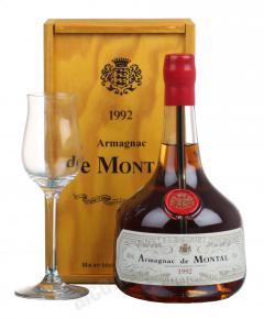 De Montal 1992 арманьяк Баз-Арманьяк де Монталь 1992 в п/у