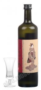 Imo Shochu Tochiakane Hiroshige Label саке Имо Шочу Точиаканэ Хирошигэ Лейбл