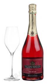 Teliani Valley Rose грузинское игристое вино Телиани Вэли Розовое
