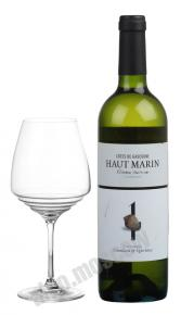 Sarl Menard Haut Marin Littorine Colombard & Ugni-blanc IGP французское вино Сарл Менар О Марин Литорин Коломбар энд Уни-блан ИГП