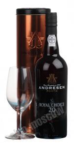Andresen Royal Choice Tawny Port португальский портвейн Андресен Роял Чойс Тони Порт