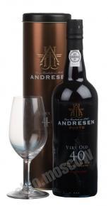 Andresen Very Old 40 португальский портвейн Андресен Вери Олд 40 лет