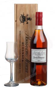 J. Normandine-Mersier Grande Champagne XO коньяк Норманди-Мерсье Гран Шампань ХO 30лет
