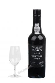Dows Vintage 2011 Портвейн Доуз Винтаж 2011г.
