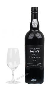 Dows 2003 Vintage Портвейн Доуз 2003 Винтаж
