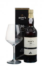 Dows Tawny 30 years Портвейн Доуз Тони 30 лет в п/у