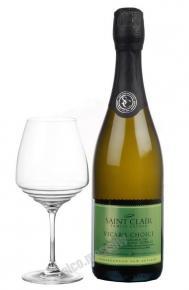 Saint Clair Vicars Choice Sauvignon Blanc новозеландское вино Сент Клер Викарз Чойс Совиньон Блан