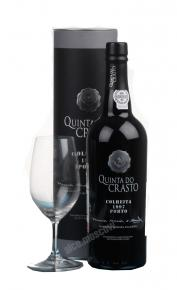 Quinta Do Crasto Colheita 1997 португальский портвейн Кинта До Крашту Колейта 1997  в тубе