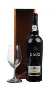 Cruz 20 years old портвейн Круз 20 лет