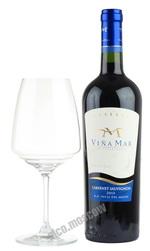 Vina del Mar de Casablanca Reserva Cabernet Sauvignon 2013 чилийское вино Винья Мар Резерва Каберне Совиньон 2013