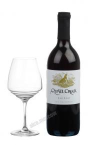 Quail Creek Shiraz Вино Квейл Крик Шираз 2014г