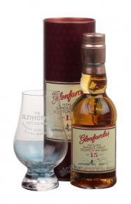 Glenfarclas 15 years Шотланлсикй Виски Гленфарклас 15 лет в тубе