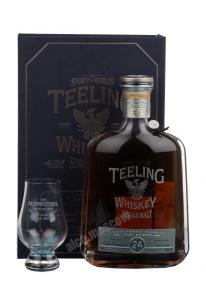 Teeling Single Malt Irish Whiskey 24 years Ирландский Виски Тилинг Сингл Молт Айриш Виски 24 года в п/у