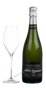 Pierre Gimonnet & Fils Extra Brut Oenophile 1-er Cru Champagne AOC 2008 Французское Шампанское Энофиль Премье Крю 2008г
